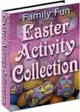 Family Fun Easter Activity Collection - PDF Ebook With Resell Rights