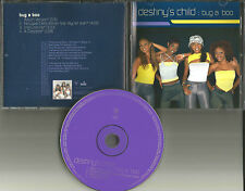 Beyonce  DESTINY'S CHILD Bug a Boo INSTRUMENTAL & REMIX &ACAPELA PROMO CD Single