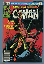 Conan the Barbarian Annual #6 1981 Marvel Gil Kane