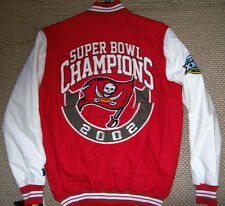 NFL Tampa Bay BUCCANEERS Superbowl XXXVII Championship Cotton Twill Jacket XXL