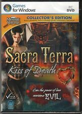 SACRA TERRA KISS OF DEATH Hidden Object COLLECTOR'S EDITION PC Game DVD NEW