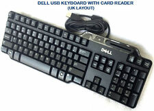 DELL KEYBOARD USB KEYBOARD WITH SMART CARD READER SK-3205 / RT7D60 - UK LAYOUT