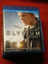 MOVIE Blu Ray ELYSIUM MATT DAMON JODIE FOSTER AWESOME SCI FI GREAT ACTION