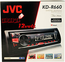 JVC KD-R660 1-Din CD Receiver with Android & iPhone Integration