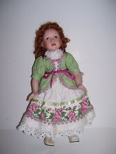 PARADISE GALLERIES PATRICA ROSE MUSICAL PORCELAIN DOLL KELLY'S TRUE LOVE