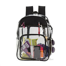 Travelwell The Clarity Clear PVC Backpack with Adjustable Shoulder Strap