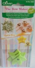 CLOVER  BOW MAKER SMALL SIZE 8450 FOR MAKING RIBBON AND FABRIC BOWS