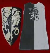"Shield & Tunic for 1/6 scale 12"" Action Figure Man.Sideshow,Medieval Knight"