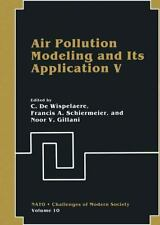 Air Pollution Modeling and Its Application V 10 (2013, Paperback)