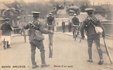 BR64812 garde d un pont bike  armee anglaise army military militaria england