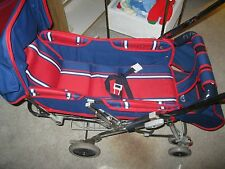 Retro 1980's Graco Stroll-a-Bed Infant To Toddler Stroller. Grows With Baby-Ex