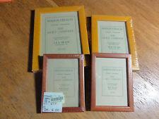 4 Bilderrahmen in Echtholz, für 9x13 (2), 10x15 und 13x18