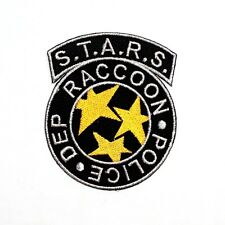 S.T.A.R.S. Raccoon Police Dep Resident Evil Biohazard Walking Dead Iron On Patch