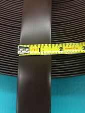 """10' Vinyl 1.5"""" Chair Strap Strapping Outdoor Patio Furniture Repair Brown 1 1/2"""""""