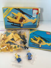 Lego Vintage Legoland Town System 6697 Rescue I Helicopter 100% Complete w/ Box