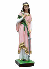 Saint Philomena resin statue cm. 30