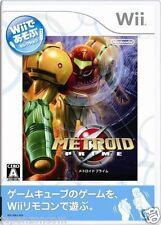 Used Wii Metroid Prime JAPAN JP JAPANESE JAPONAIS IMPORT