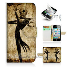 iPhone 5 5S Print Flip Wallet Case Cover! Nightmare Before Christmas P1369