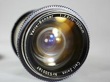 CARL ZEISS VARIO-SONNAR 10-100MM 1:2.8 T* LENS FOR ARRI B-MOUNT  ARRIFLEX 16SR2