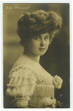 c 1908 French Theater Betty Darmand STAGE BEAUTY photo postcard