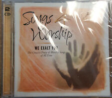 We Exalt You-Songs 4 Worship- CD de musica cristiana