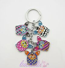 Furby Boom Figure Key Chain Metal Keyring Charm Adorable Gift Hot