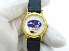 "NEW ENGLAND PATRIOTS,Star Time,Rare! ""Spinning Football"" KIDS/LADIES WATCH,1200"