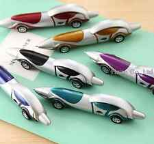 6pcs Ballpoint Pen Blue Ink Bulk sports car cool cartoon pen