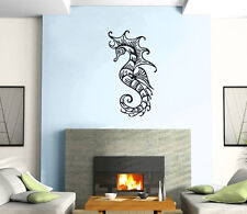 Sea Horse Ocean Marine Decor Mural Wall Art Decor Vinyl Sticker z379