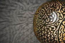Highly Detailed Moroccan Oxidize Brass Hanging Lamp Ceiling Light Chandelier