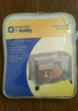 NEW BABIES R US ESPECIALLY FOR BABY PLAY YARD NETTING SOFT MESH WHITE
