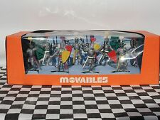 CRESCENT MOVABLES 1960'S MEDIEVAL KNIGHTS SET NO. 907  NEW OLD STOCK BOXED