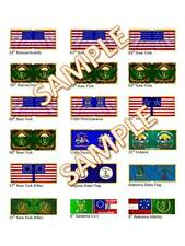 1/72  28mm ACW Foundry style Flags of Irish Regiments of the Civil War