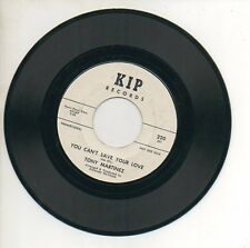 TONY MARTINEZ 45RPM Promo Record YOU CAN'T SAVE YOUR LOVE / THE WAITING GAME