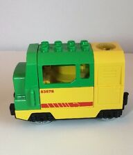 Lego Duplo Green Yellow Battery Powered Motorized Train Engine 5609 83578