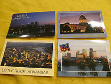 4 for 1 -LITTLE ROCK ARKANSAS /CAPITOL - 2 Night shots & day shots PANARAMA Pk A