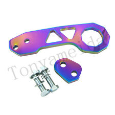 NEO CHROME UNIVERSAL BILLET CNC ALUMINUM RACING REAR TOW HOOK JDM ANODIZED