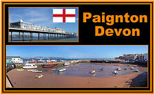 PAIGNTON, DEVON -JUMBO FRIDGE MAGNET - BRAND NEW