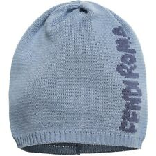 FENDI BABY BLUE KNITTED ROMA LOGO HAT 0-6 MONTHS