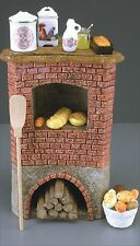Reutter 12th scale Bread oven with accessories