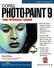 Corel PHOTO-PAINT 9 - THE OFFICIAL GUIDE by David Huss 771 pages # 0-07-211985-3