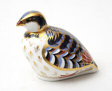 Royal Crown Derby Red Legged Partridge Paperweight * BOXED *
