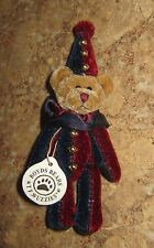 BOYDS BEARS ~~  T F Wuzzies ~ Jointed Clown Teddy Bear ~ New!