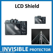 Canon Powershot G15 Camera INVISIBLE LCD Screen Protector Shield