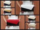 Clutch-Tasche Party Modische Clutch vielen Farben Lederoptik Handtasche
