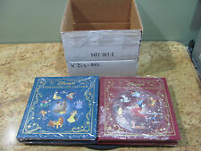 Disney's Storybook Collection Vol 1 & 2 The Eastern Press, Leather Bound, USC#33