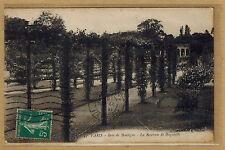 Cpa Paris - Bois de Boulogne la roseraie de Bagatelle rp0335