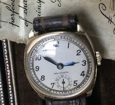 Vintage 1939 9ct Gold Titus Watch Original Box & Papers Perfect Christmas Gift