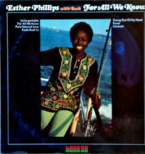 ESTHER PHILLIPS WITH BECK - FOR ALL WE KNOW - KUDU - 1978 LP
