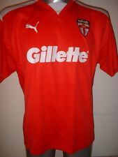 England Puma Rugby League Shirt Jersey Adult Large World Cup Gillette Warmup